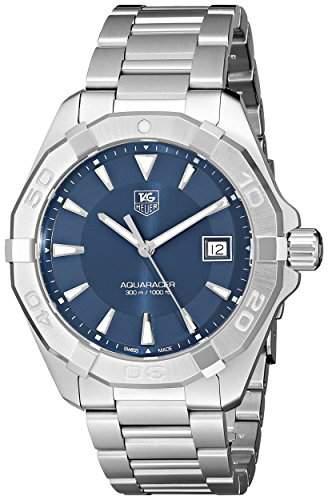 TAG Heuer Herren-Armbanduhr Analog Quarz Edelstahl WAY1112BA0910