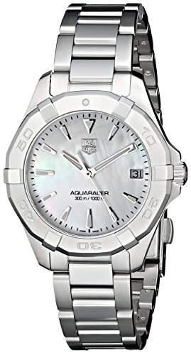 TAG Heuer Damen-Armbanduhr Analog Quarz Edelstahl WAY1312BA0915