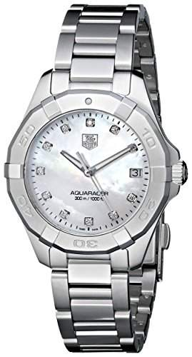 TAG Heuer Damen-Armbanduhr Analog Quarz Edelstahl WAY1313BA0915