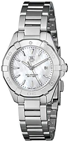 TAG Heuer Damen-Armbanduhr Analog Quarz Edelstahl WAY1412BA0920