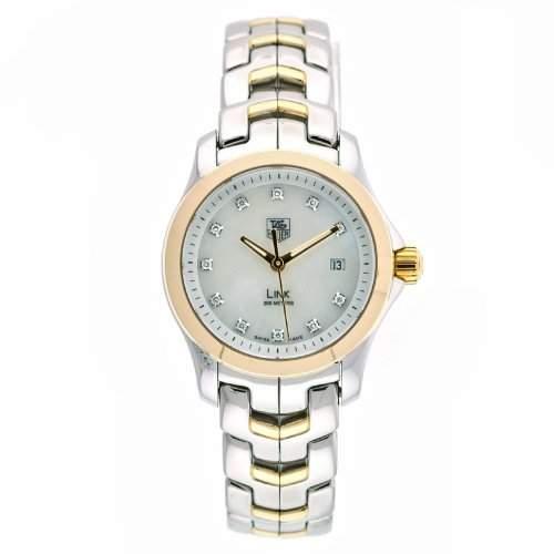 TAG Heuer Damen WJF1353BB0581 Carrera Diamant Akzent Two-Tone Uhr