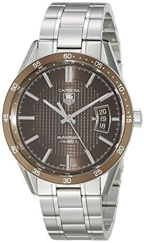 TAG Heuer Herren WV211NBA0787 Carrera Aluminiumluenette Uhr