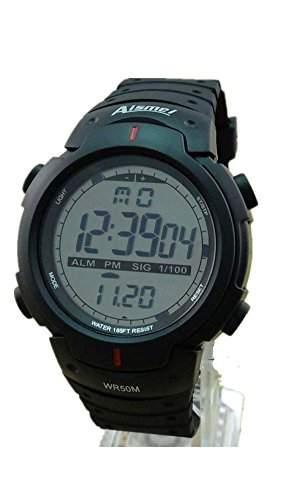 SAMGU Rubber Men Outdoor digitaluhren Mode Sport Led Uhr Wasserdicht Farbe Schwarz