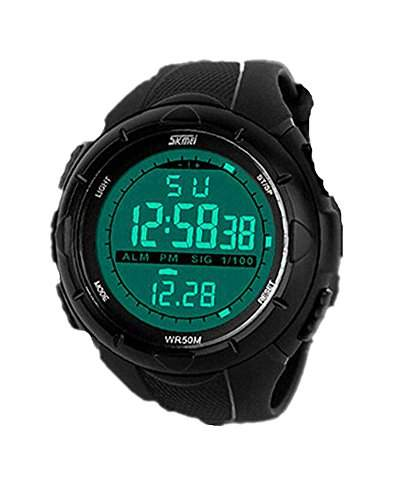 SAMGU Rubber Elektronische Maenner Sportuhren Outdoor Digitaluhren Wasserdichte Led Watch