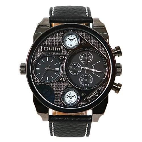 SAMGU Herren mechanisches Uhrwerk Militaer Handgelenk Uhren schwarz