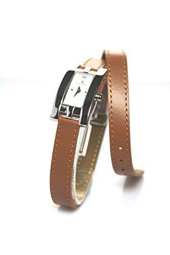 Jacques Du Manoir Swiss Made Damen Tan Braun Armbanduhr