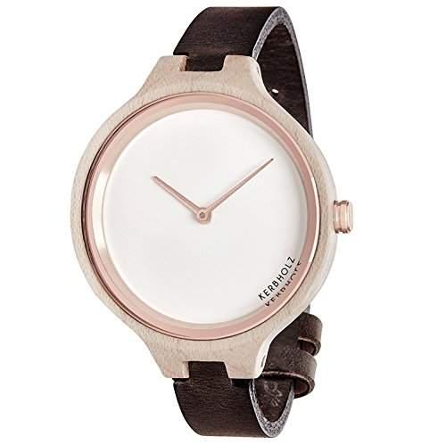 Kerbholz Damen-Armbanduhr Analog Quarz Holz 104006V000002