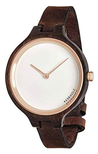 Kerbholz Damen-Armbanduhr Analog Quarz Holz 104006V000006