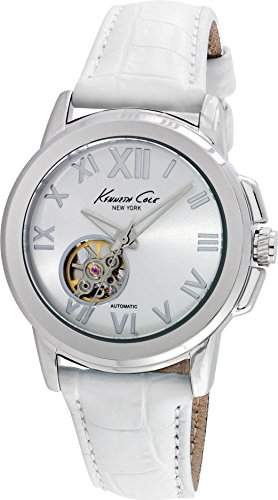 Kenneth Cole - Damenuhr - Automatic - Analog - weisssilber - KC10020859
