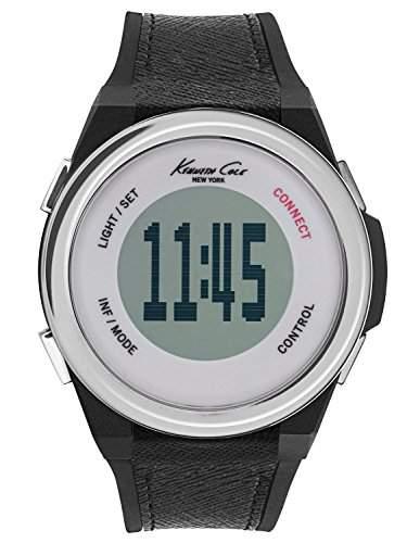 Kenneth Cole Herren-Armbanduhr Digital Quarz Plastik KC10023867
