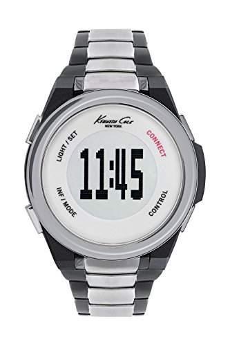 Kenneth Cole Herren-Armbanduhr Digital Quarz Plastik KC10023868