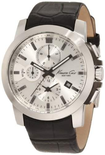 Kenneth Cole Herren-Armbanduhr XL Dress Sport Analog Silikon KC1845