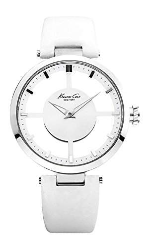 Kenneth Cole Damen-Armbanduhr Transparency Analog Quarz KC2609