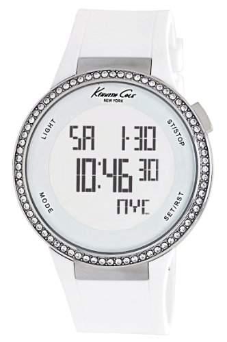 Kenneth Cole Damen-Armbanduhr XL Digi-Touch Analog Leder KC2698