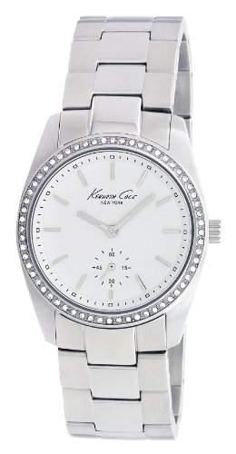 Kenneth Cole Damen-Armbanduhr Analog Edelstahl silber KC4722