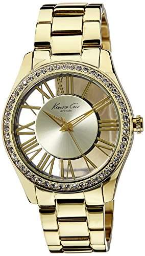 Kenneth Cole Damen-Armbanduhr XS Transparency Analog Edelstahl KC4853