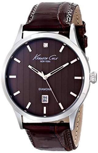 Kenneth Cole New York Herren KC8070 Rock Out Analog Display Analog Quartz Brown Armbanduhr