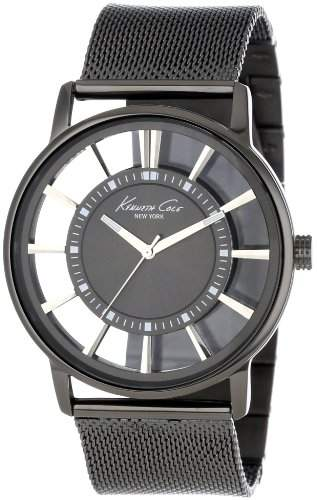 Kenneth Cole Herren-Armbanduhr XL Transparency Analog Edelstahl KC9176