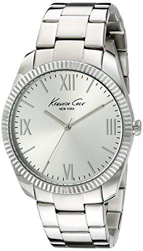 Kenneth Cole New York Mens 10019684 Classic Analog Display Japanese Quartz Silver Watch