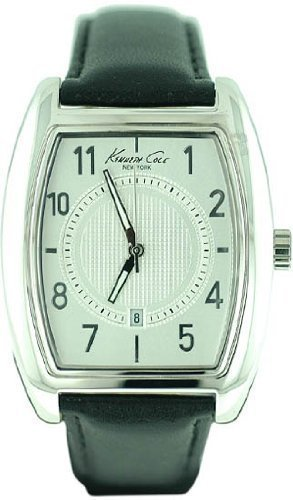 Kenneth Cole New York Leather Collection Silver Dial KC1543S