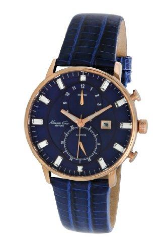 Kenneth Cole Damen Armbanduhr Dress Sport Chronograph Leder KC2756