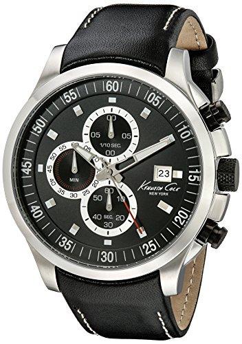 Kenneth Cole New York Herren kc8093 Kleid Sport Analog Display Japanisches Quartz Black Watch by Kenneth Cole New York