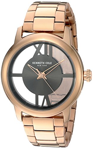 Zeigt Damen Kenneth Cole Modell Transparency Canon de Fusil und rosa gold 10024376