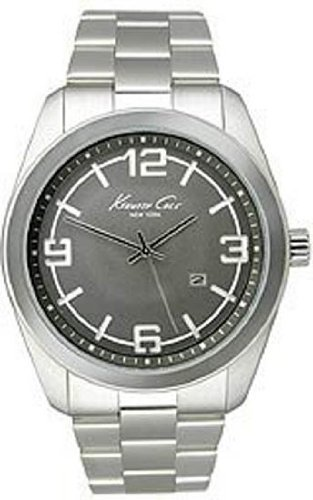 KENNETH COLE NEW YORK MENS STAINLESS STEEL CASE DATE UHR KC3912
