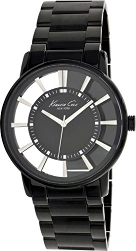 Kenneth Cole Transparency KC3994 Herrenarmbanduhr Durchbrochenes Ziffernblatt