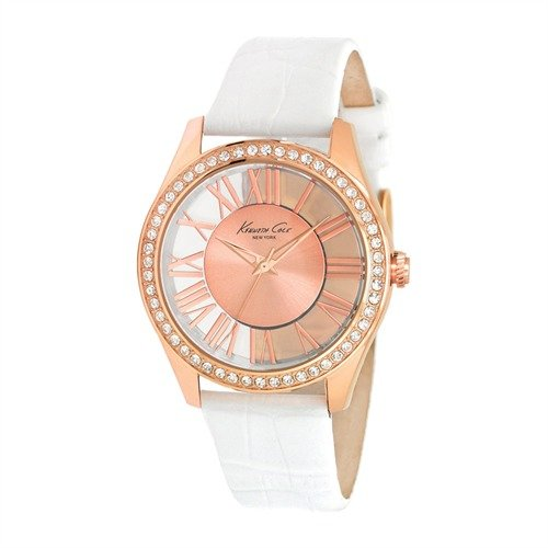 Kenneth Cole Transparency weiss rosegoldfarben KC2728