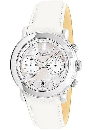 KENNETH COLE WATCH SPORT SS CHRONO LADY WHITE STRAP