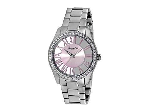 Kenneth Cole Damen-Armbanduhr Transparency Silver Analog Quarz Edelstahl KC4982