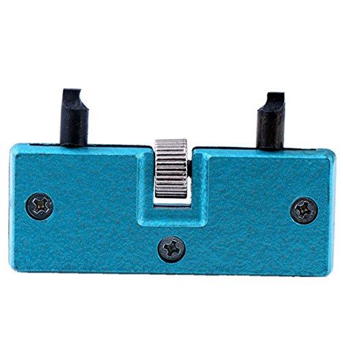 JSDDE Uhrengehaeuseoeffner Verstellbares Schluesselwerkzeug Uhrmacher Schraubdeckel Uhr Werkzeug oeffner Reparatur Tool
