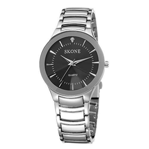 Herren Klassisch Taeglich Geschaeftlich Formell und Freizeit Stahl Armbanduhr