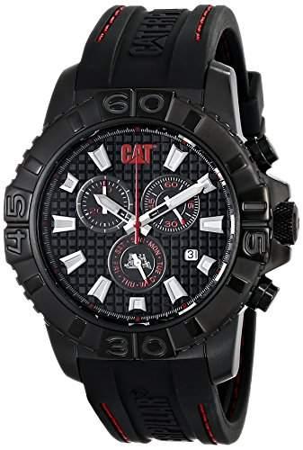 CAT ArmbanduhrES Herren CA16328128 Alaska Analog Display Quartz Black Armbanduhr