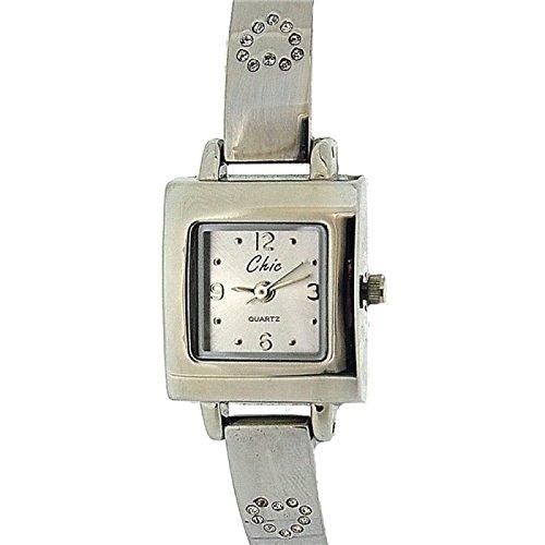 Chic Elegante Damen Armbanduhr mit Schmuckherz in Praesentbox 254 2793