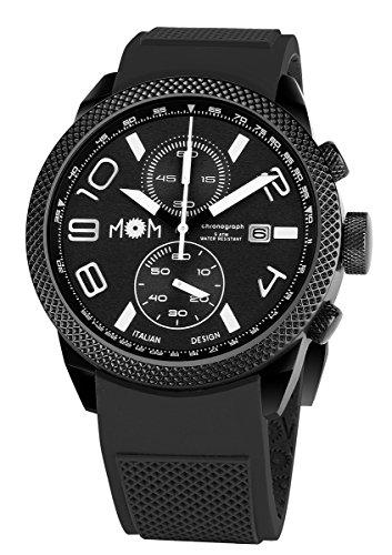 AMS PM7000 91 Herren Armbanduhr Modena Edelstahl schwarz 16 5 x 10 2 x 0 15 cm