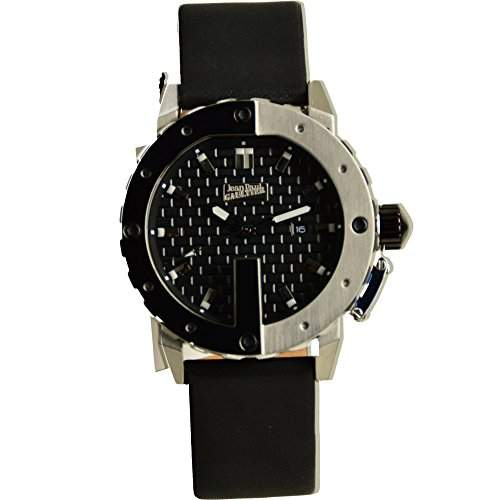 Jean Paul Gaultier Herren-Armbanduhr Analog Quarz Leder 8500101
