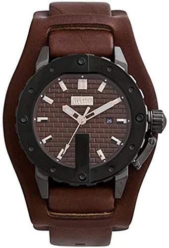 Jean Paul Gaultier Herren-Armbanduhr Analog Quarz Leder 8500102
