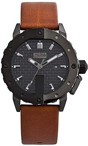 Jean Paul Gaultier Herren-Armbanduhr Analog Quarz Leder 8500103