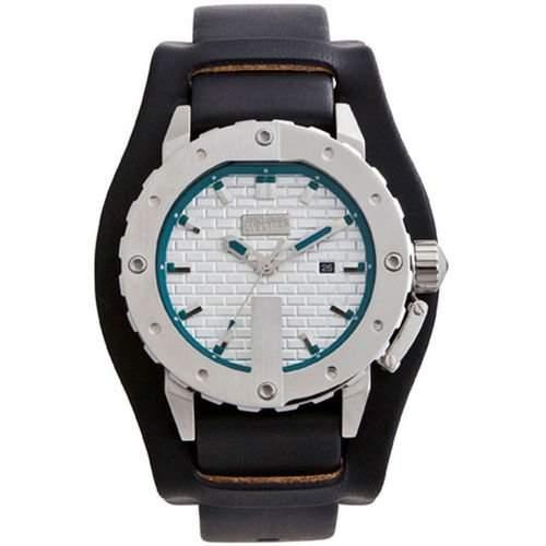 Jean Paul Gaultier Herren-Armbanduhr Analog Quarz Leder 8500104