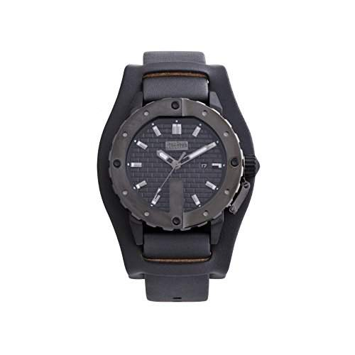 Jean Paul Gaultier Herren-Armbanduhr Analog Quarz Edelstahl 8500105