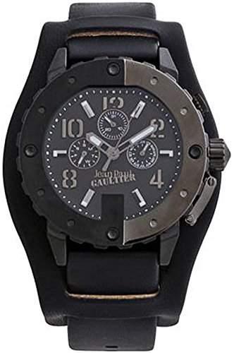 Jean Paul Gaultier Herren-Armbanduhr Analog Quarz Leder 8500201