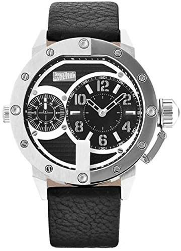 Jean Paul Gaultier Herren-Armbanduhr Analog Quarz Leder 8500401