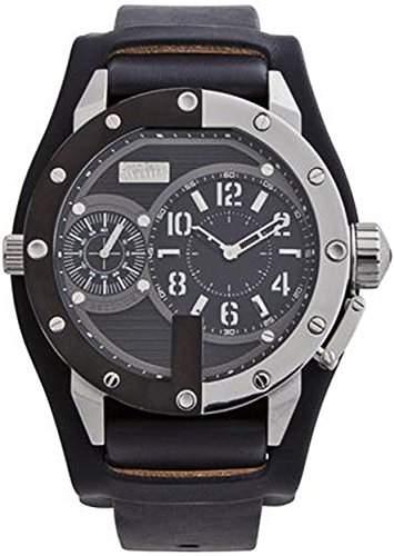 Jean Paul Gaultier Herren-Armbanduhr Analog Quarz Leder 8500404
