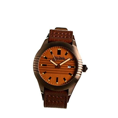Jean Paul Gaultier Herren-Armbanduhr Analog Quarz Leder 8502503