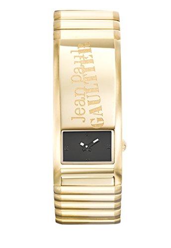 Armbanduhr Herren Jean Paul Gaultier verschliessbar Armband Stahl PVD Gold 22 6 49 6 mm 8503705
