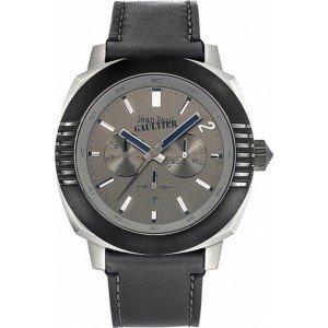 Zeigt Herren Jean Paul Gaultier 8503301 schwarz Armband Leder