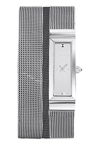 Zeigt Damen Jean Paul Gaultier Cote Mesh Stahl PVD Armband Stahl Mesh 33 13 5 mm 8503901