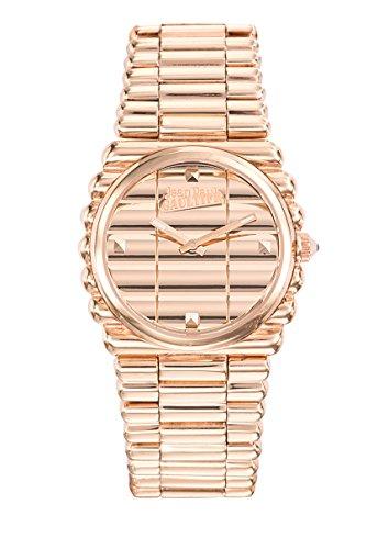 Zeigt Damen Jean Paul Gaultier Rand Kueste Armband Stahl PVD rose 34 mm 8504106